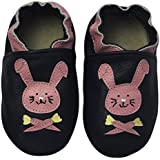 Rose & Chocolat Chaussures Bébé Happy Rabbit Bleu