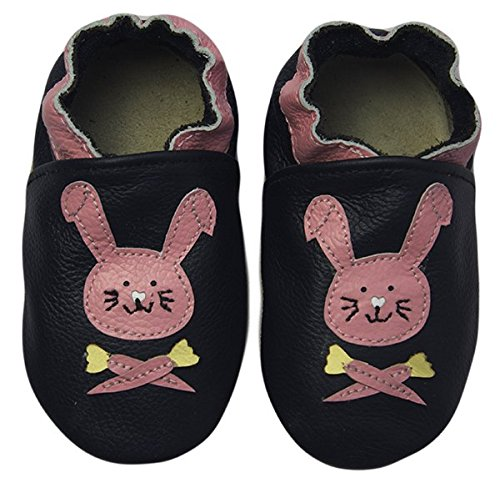 Rose & Chocolat Chaussures Bébé Happy Rabbit Bleu