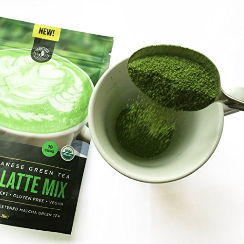 Organic Japanese Matcha Latte Mix