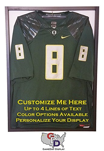 Amazon.com   Custom Jersey Display Case Frame with White Backing and Hanger  by GameDay Display   Sports   Outdoors 3fa9aea0e