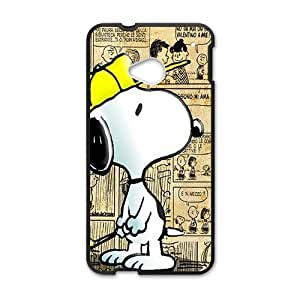 Happy Lovely snoopy Cell Phone Case for HTC One M7 by icecream design