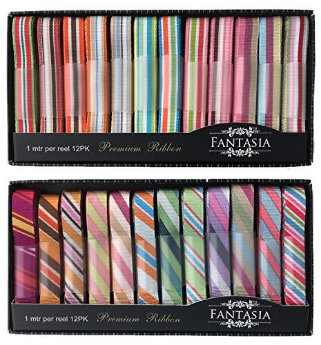 Fantasia Ribbon Box Selection (Color Stripe)