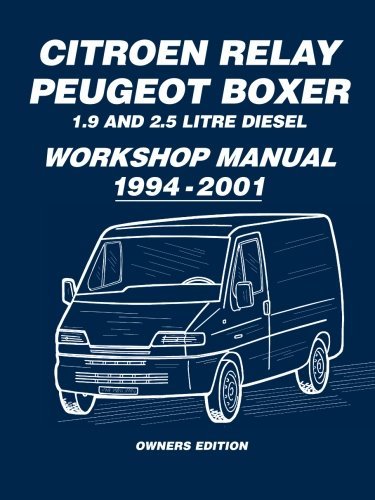 citroen relay peugeot boxer 1 9 and 2 5 diesel workshop manual 1994 rh amazon co uk Fiat Ducato USA Fiat Ducato Interior