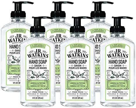 Hand Soap: J.R. Watkins