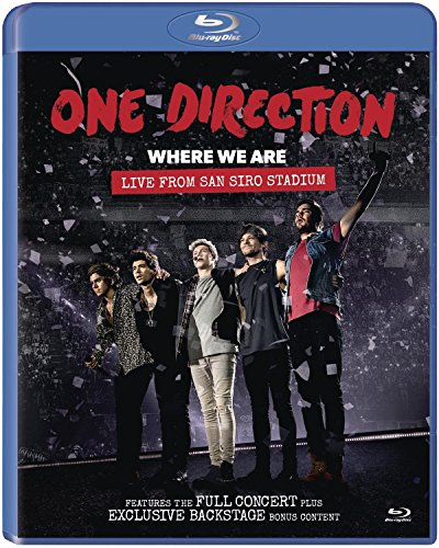Where We Are: Live From San Siro Stadium [Blu-ray]