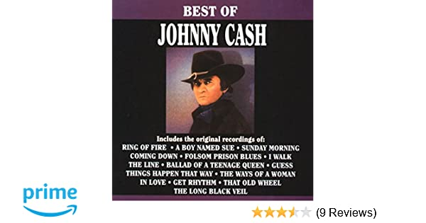 huge selection of 8f0f9 ff387 Johnny Cash - Best Of Johnny Cash, The - Amazon.com Music
