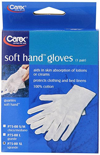Carex Health Brands Cotton Gloves