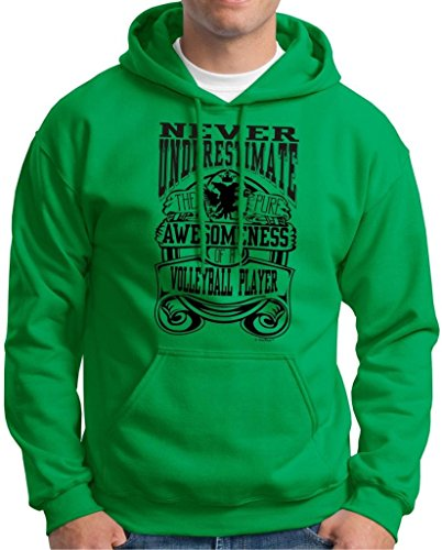 Underestimate Awesome Volleyball Player Sweatshirt