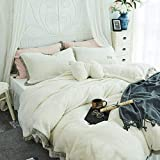 RESUXI Cotton Sheets King Size,Playboy Thickened