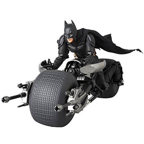 Medicom The Dark Knight: Batpod Mafex Vehicle (Catwoman From The Dark Knight Rises)