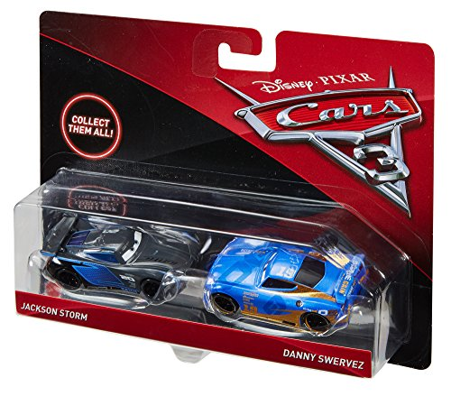 Disney pixar cars 3 jackson storm and danny swervez 1 for Three jackson toy