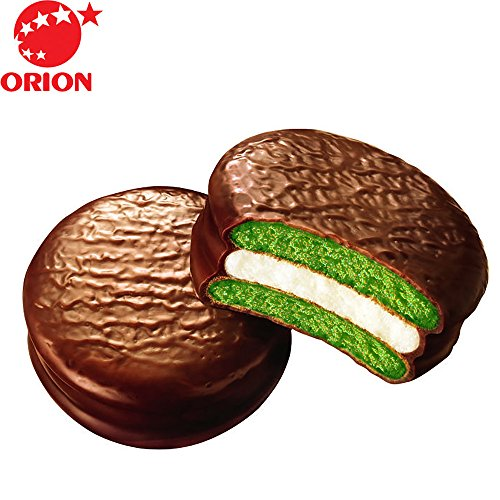 choco pie green tea - 2
