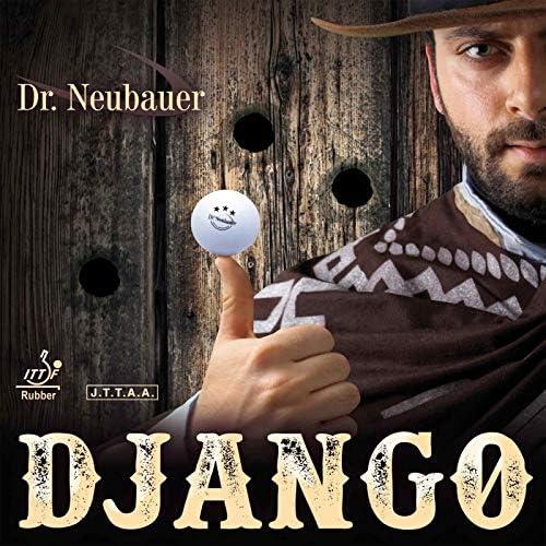 rot DR NEUBAUER Belag Django Optionen 1,8 mm Anti-Spin