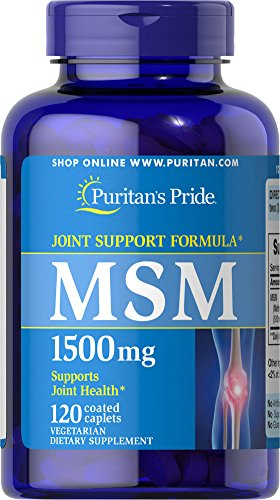 Fierté MSM 1500 mg-120 comprimés de puritain