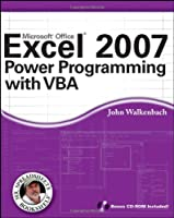Excel 2007 Power Programming with VBA Front Cover