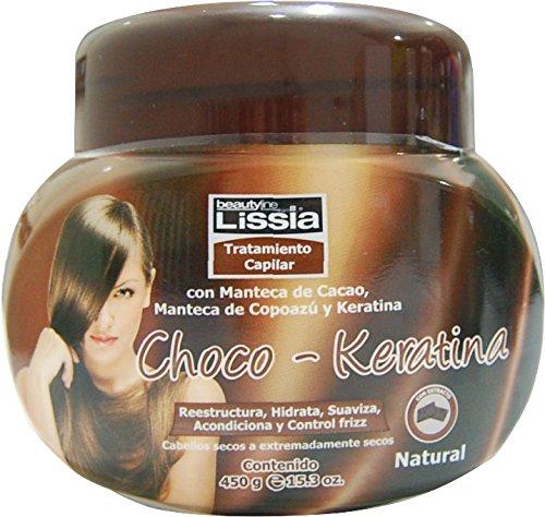 Amazon.com : Lissia - chocokeratina. Tratamiento capilar intensivo con ingredientes naturales que ayudan nutrir, hidratar y acondicionar cabellos secos.