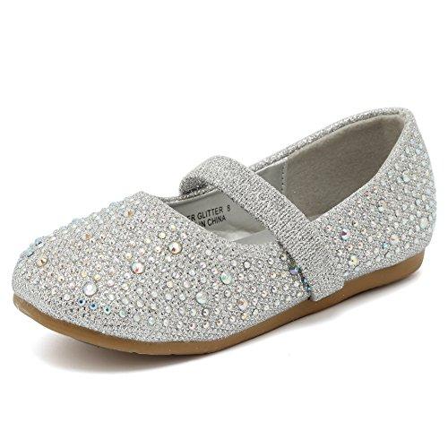 CIOR Toddler Girls Ballet Flats Shoes Ballerina Bowknot