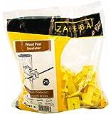 Zareba IWNY-Z Slant Nail Insulator, Yellow, 25 per Bag