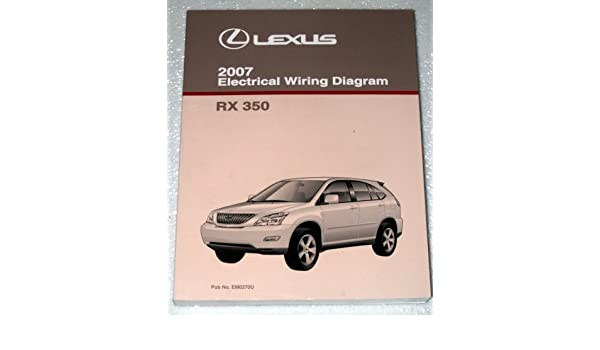 2007 Lexus Rx350 Electrical Wiring Diagram Gsu30 Gsu35 Series Rhamazon: Lexus Rx350 Wiring Diagram At Gmaili.net