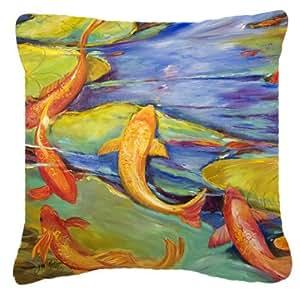Lienzo Koi Tela decorativa almohada jmk1263pw1414