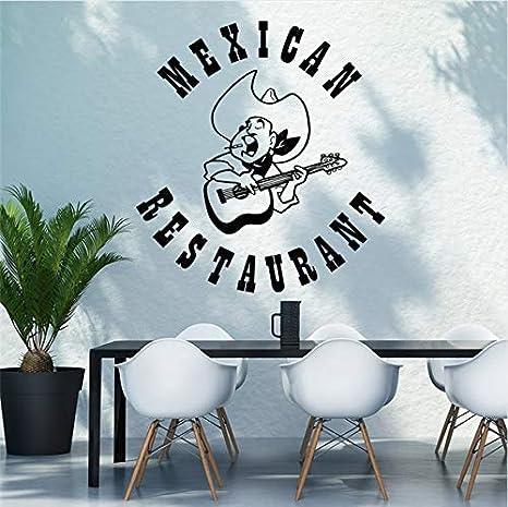 Restaurante mexicano Signo Etiqueta de La Pared Música Folk ...