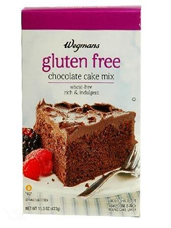 Amazoncom Wegmans Gluten Free Chocolate Cake Mix Grocery