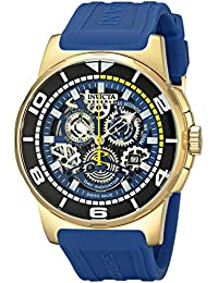 Invicta Men's 18948 Reserve Analog Display Swiss Quartz Watch, Blue