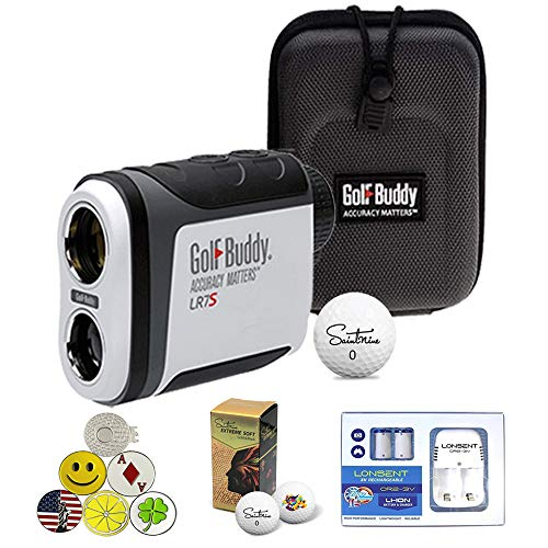 - GolfBuddy LR7S Laser Rangefinder Slope Feature On/Off Function Bundle with Saintnine 2 Ball Sleeve with 1 Magnetic Hat Clip and 5 Ball Markers with 2 CR2-3V Battery with Charger