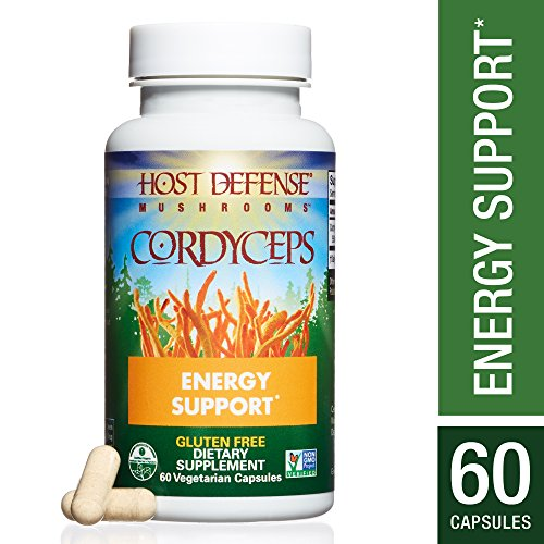 - Host Defense - Cordyceps Mushroom Capsules, Naturally Helps Energy, Stamina, Endurance, and Oxygen Uptake to Support Athletic Activity, Non-GMO, Vegan, Organic, 60 Count