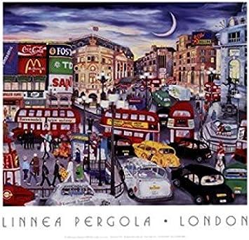 Linnea Pergola – Londres Artistica di Stampa (35,56 x 27,94 ...