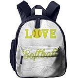 toy miele vacuum - Baby Love Softball Heart Boys Backpack