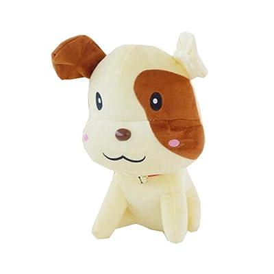 """8 """"petite taille peluche chien chiot peluche chien créatif en peluche cadeau pour les enfants, B"""