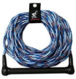 AIRHEAD AHSR-5 Water Ski Rope with 4-Inch Finger Guards (75-Feet) Athletics, Exercise, Workout, Sport, Fitness