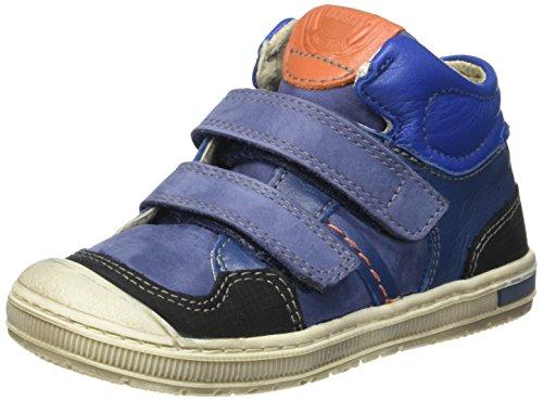 Kickers Igor - Zapatillas Niños Bleu (Bleu/Orange)