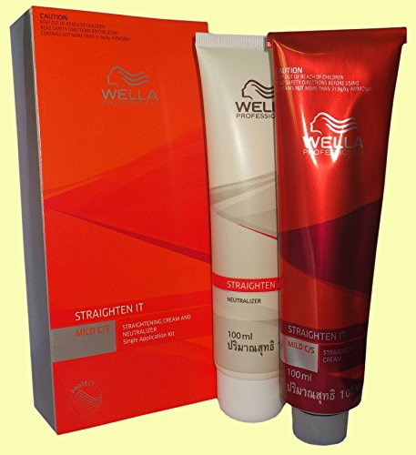 Wella Strate Straightener System Mild Hair Cream