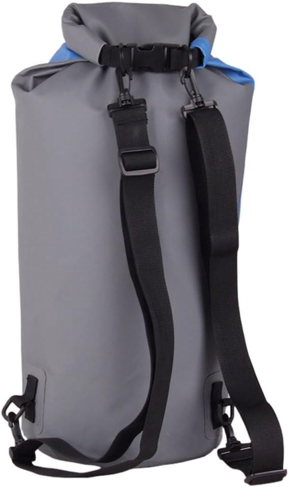 Kanufahren//Angeln//Rafting//Schwimmen//Camping//Snowboarden Prom-near 60L wasserdichte Tasche Driftender aufblasbarer wasserdichter Taschen-Rucksack im Freien geeignet zum Kajak- Boot-