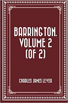 Book Barrington. Volume 2 (of 2)