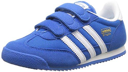 adidas Dragon CF C - Zapatillas para niño Azul / Blanco