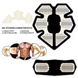 BTBOOM High Adhesion Gel Pads Stickers Fitness Full Body Massager Silicone Hydrogel Mat Replacement For Smart Abdomen Muscle Training (Gel Pad) Review