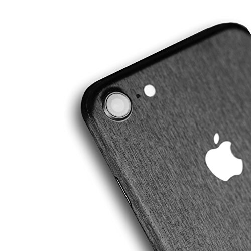 AppSkins Rückseite iPhone 8 Full Cover - Metal black