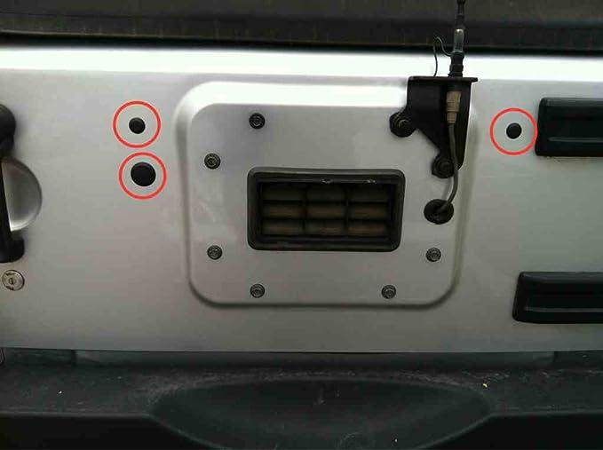 Amazon 3 PLASTIC Body Plugs Tailgate For Jeep Wrangler