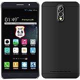 Wogiz® WX10 Plus Unlocked Smartphone 6 inch QHD Android 5.1 Quad Core Dual SIM Card Dual Standby (Black)