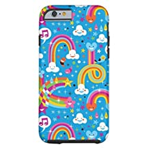 Phone Covers for Iphone 5S/SE Case, Clouds Rainbows Rain Drops Hearts Pattern Tough There Phone Case for Iphone5S/SE Case