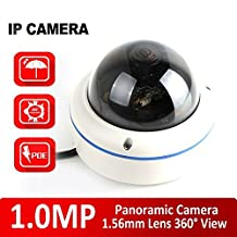 YobangSecurity IP Camera Outdoor, 720P WiFi Wireless IP Security Dome Camera IP66 Waterproof with Night Vision Home Surveillance Camera Remote View Android IOS App