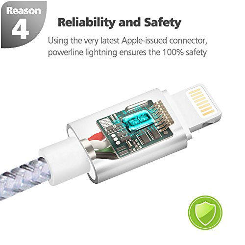 Lightning Cable, [Apple MFI Certified] DLG 3 9Ft iPhone Charger