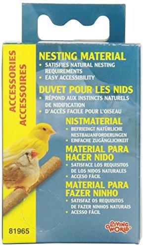 Living World Nesting Material - Nesting Box Material