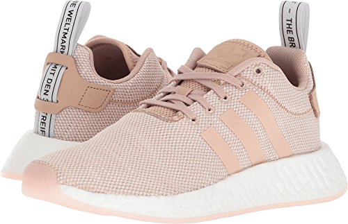 adidas Originals Womens NMD_r2 W Sneaker Ash Pearl/Ash Pearl/Crystal White cZ6WlsBT