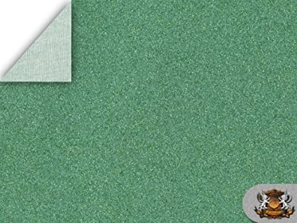 Amazon Com Vinyl Sparkle Mint Fake Leather Upholstery Fabric By The