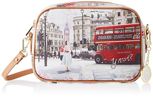 Y NOT? Crossbody - Bolso bandolera Mujer Multicolor (Multicolore Bus Ride)