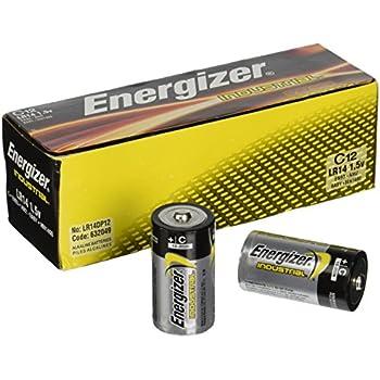 Amazon.com: Energizer EN91 Industrial Alkaline Batteries